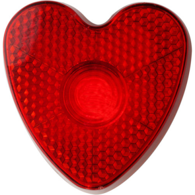 Image of Heart shaped safety light