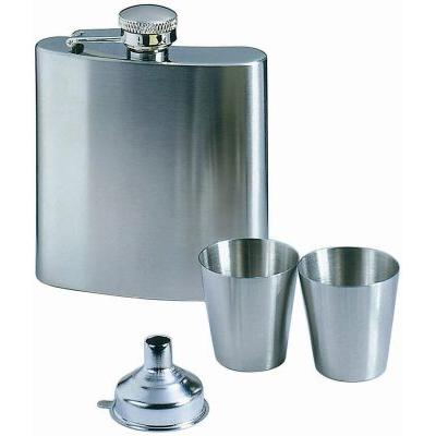 Image of Hip flask with cups