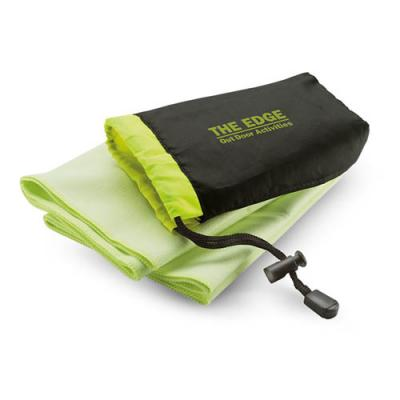 Image of Sport towel in nylon pouch