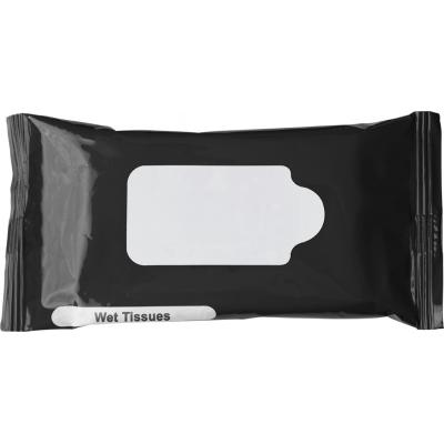 Image of Bag with 10 wet tissues