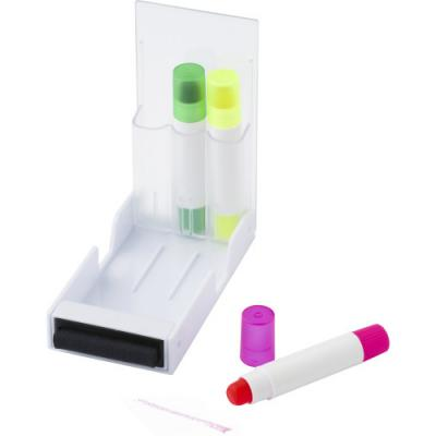 Image of Set of three gel markers