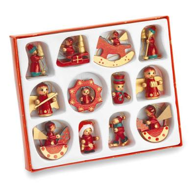 Image of 12 Pieces Christmas Decoration