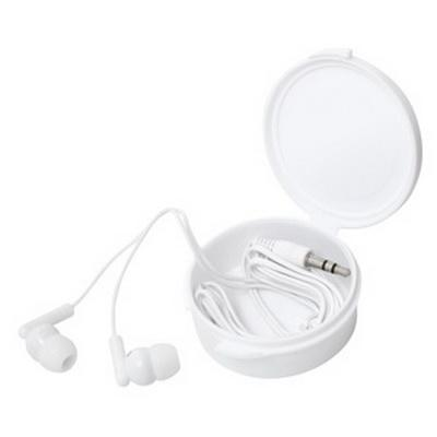 Image of Earphones in a Budget Case