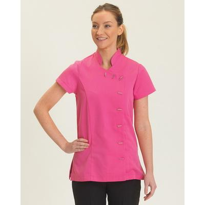 Image of Dennys Beauty Tunic Asymmetric Stud Fastening