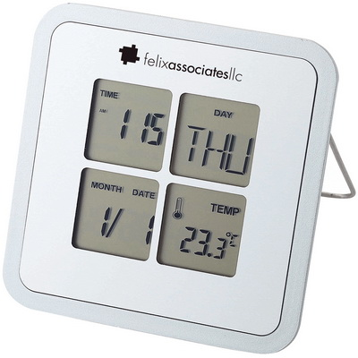 Image of Livorno desk weather clock