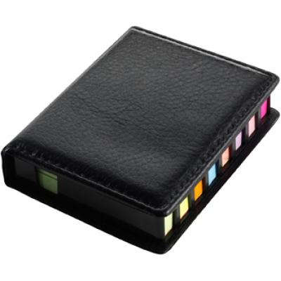 Image of Plastic case with self-adhesive memo papers