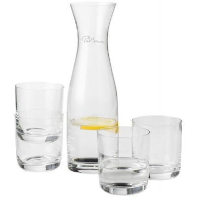 Image of Prestige carafe with 4 glasses