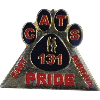 Image of 30mm Stamped Iron Soft Enamel Badge