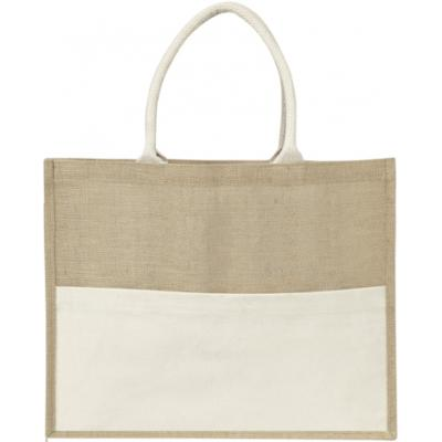 Image of Jute bag with plastic backing