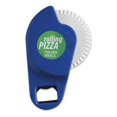 Image of Pizza Cutter With Bottle Opener