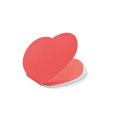 Image of Heart shape sticky notes