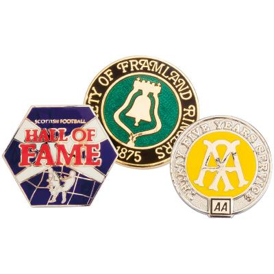 Image of Hard Enamel Badge