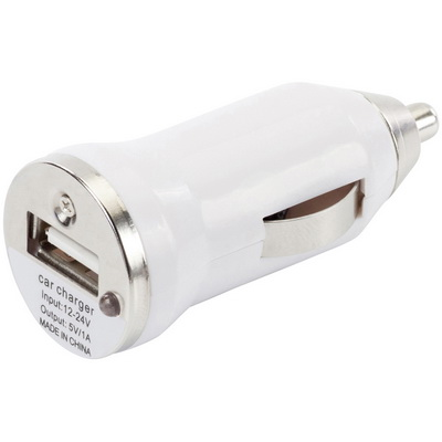 Image of Plastic car power adapter