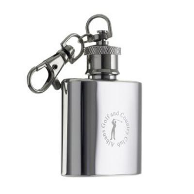 Image of Hip Flask Keyring