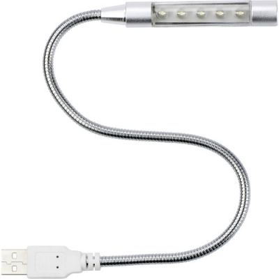 Image of Flexible computer light with USB connector.