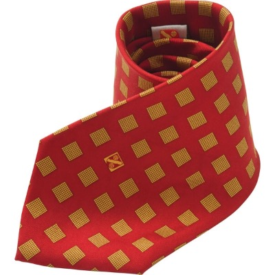 Image of Printed Polyester Tie (Screen Print)