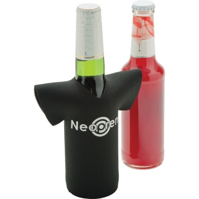 Image of Neoprene T-Shirt Shaped Bottle Cooler