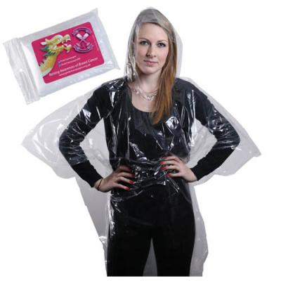 Image of Rain Poncho With Sticker