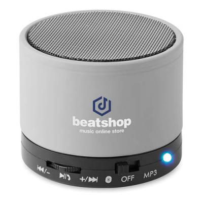 Image of Round Bluetooth speaker
