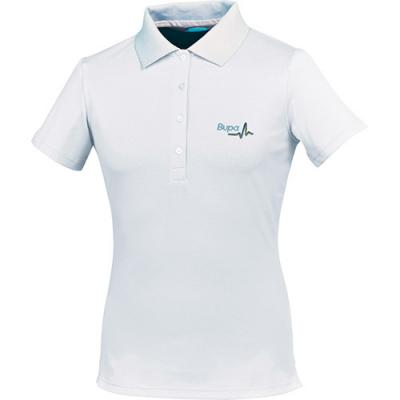 Image of FJ (Footjoy) Ladies Short Sleeved Pique Polo
