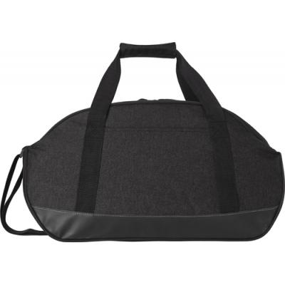 Image of Polyester (600D) two-tone sports bag