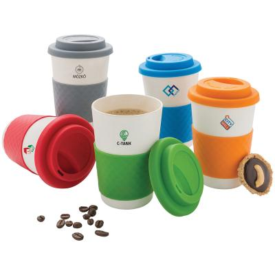 Image of Eco Bamboo Fibre Coffee Cup
