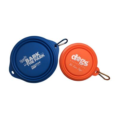 Image of Collapsible Silicone Dog Bowl