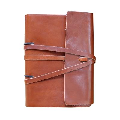 Image of Richmond Deluxe Nappa Leather A5 Lace Artisan Journal