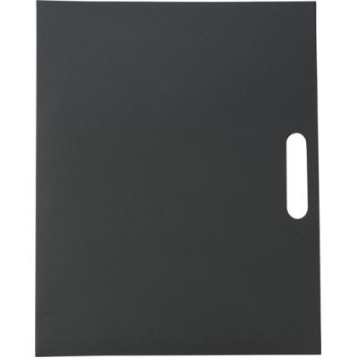 Image of Folder with natural card cover