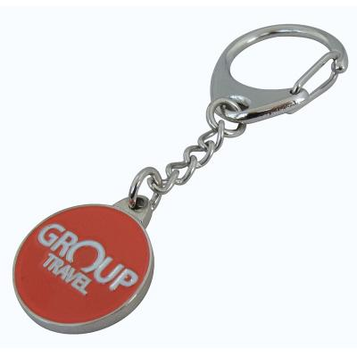 Image of Captive Trolley Coin Keyrings
