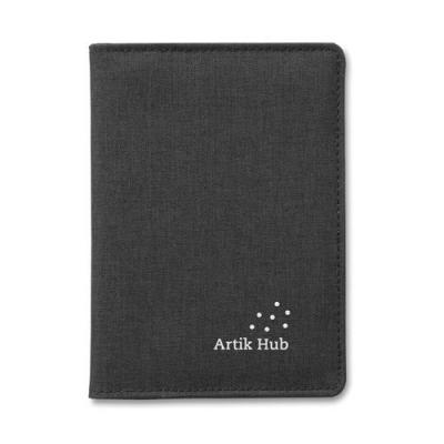 Image of 2 Tone passport holder