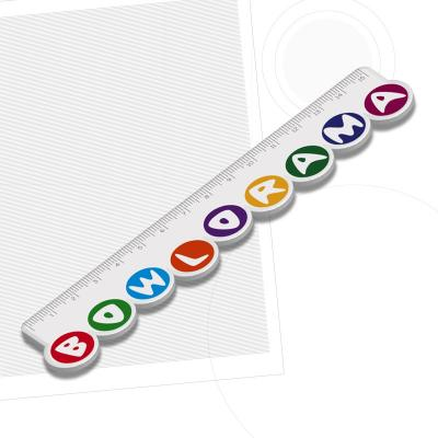 Image of Recycled Custom Shape 15cm Ruler