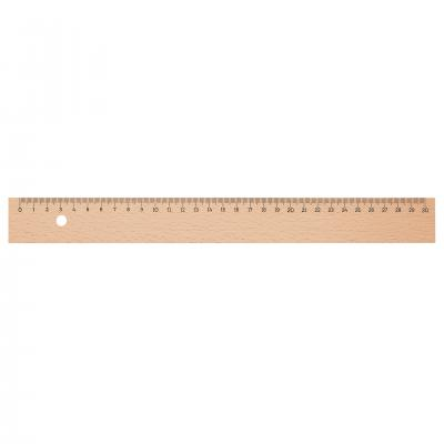 Image of 30cm Wooden Rulers  - sustainable