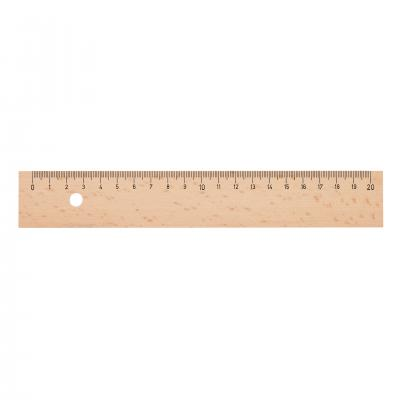 Image of 20cm Wooden Ruler